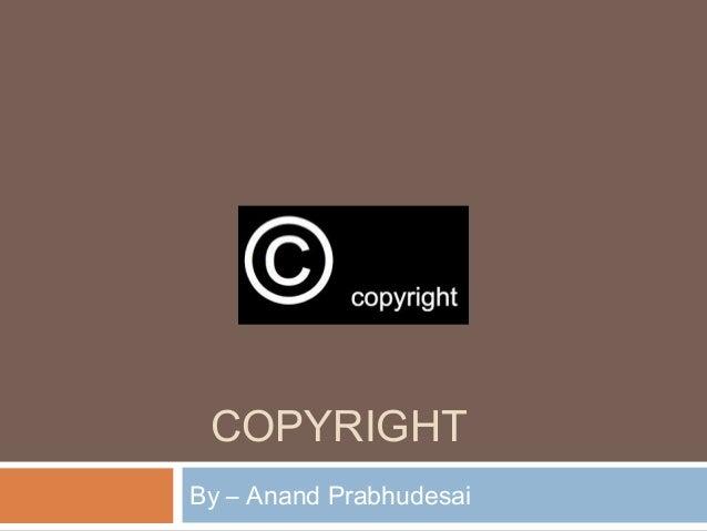 Case study copyright infringement