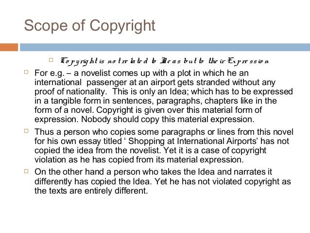 a presentation on copyright  u0026 copyright infringement