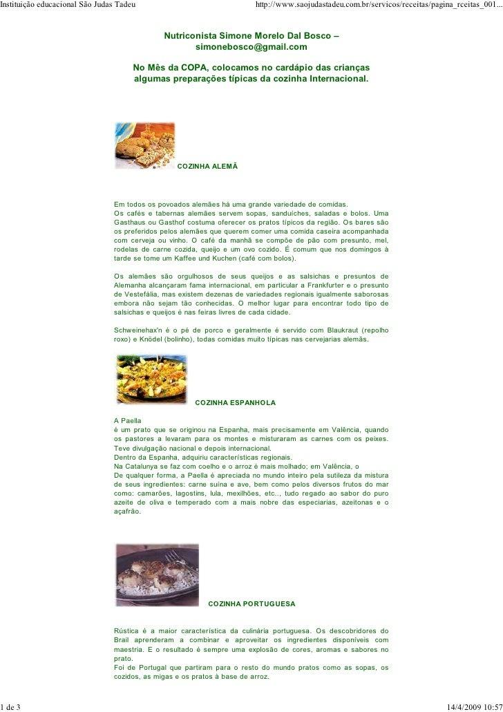 Instituição educacional São Judas Tadeu                                  http://www.saojudastadeu.com.br/servicos/receitas...