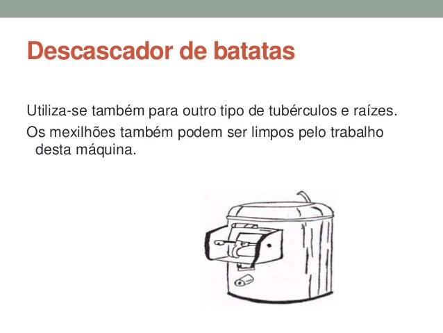 Máquina de cortar frios (fiambreira) Utiliza-se para cortar alimentos semi-duros , em fatias uniformes