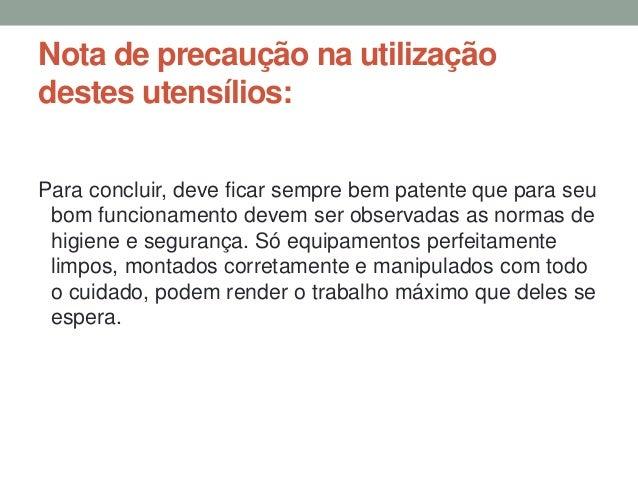 EQUIPAMENTO DE COCÇÃO