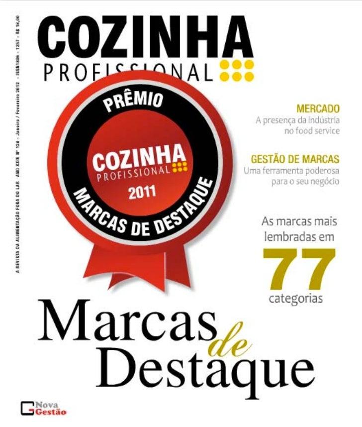 Revista Cozinha Profissional - A Força da Marca - Março 2012)