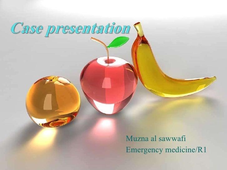 Muzna al sawwafi Emergency medicine/R1