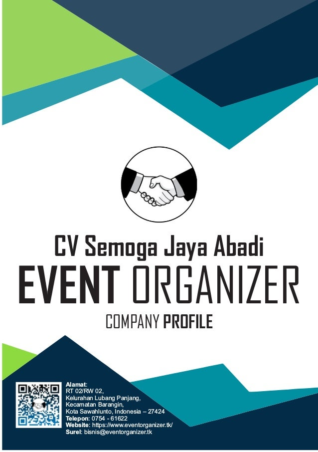 Company Profile Event Organizer