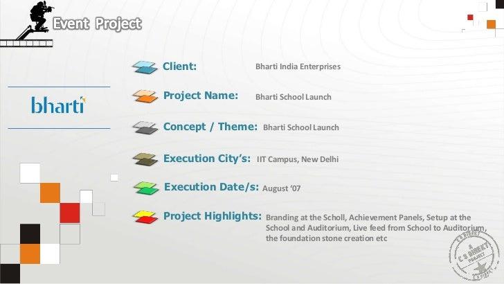 Bharti India Enterprises<br />Bharti School Launch<br />Bharti School Launch<br />IIT Campus, New Delhi<br />August '07<br...