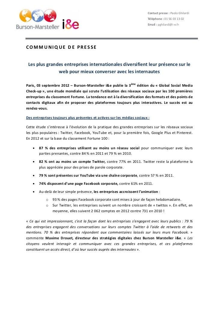Contactpresse:PaoloGhilardi                                                                                Téléphone...