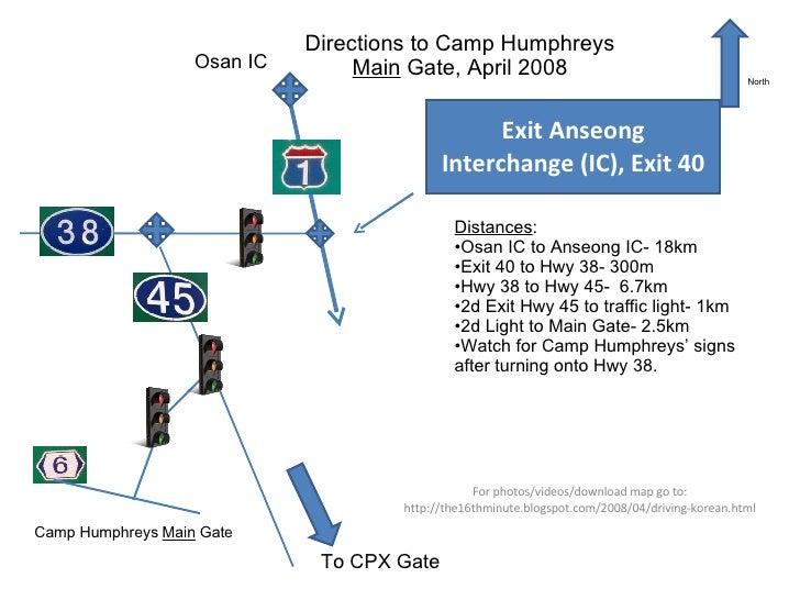 USAG Camp Humphreys Maps