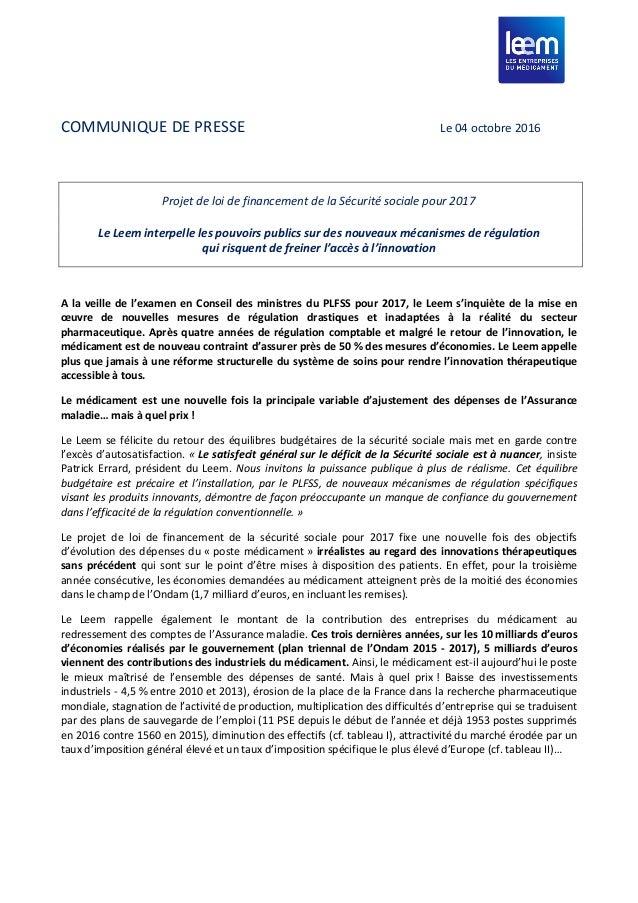 le leem interpelle les pouvoirs publics sur des nouveaux m u00e9canismes d u2026