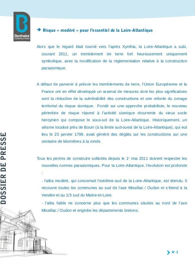 Cp sismique berthelot construction jean luc descombes for Berthelot construction carquefou