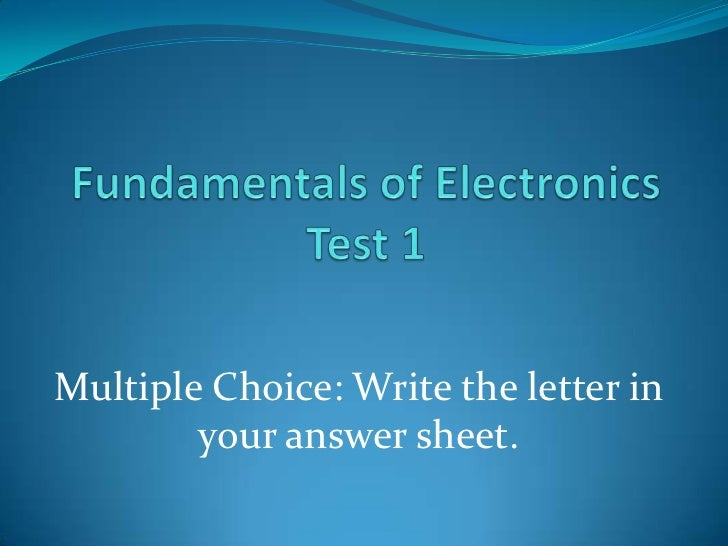 Multiple Choice: Write the letter in        your answer sheet.