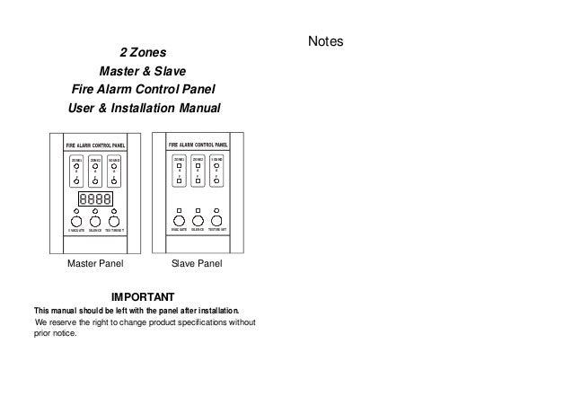 mini 2 zones conventional fire alarm control panel rh slideshare net