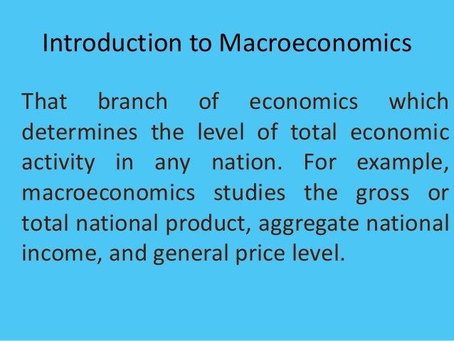 Nnp macroeconomics study