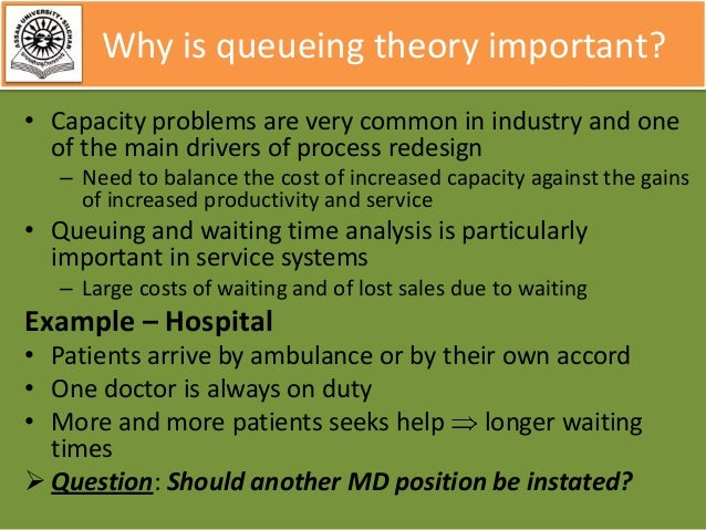 queueing theory basics 2013-09-04 1 introduction to queueing theory a pioneer: agner krarup erlang (1878-1929) queueing theory - basics important queuing models with.