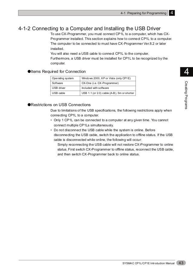 Cp1e manual