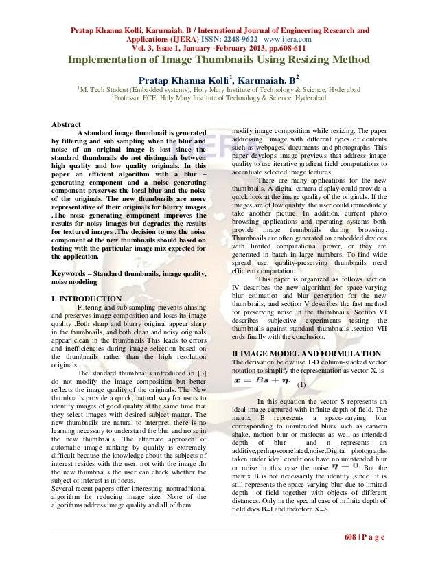 Pratap Khanna Kolli, Karunaiah. B / International Journal of Engineering Research and                    Applications (IJE...