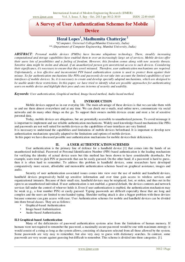 www.ijmer.com  International Journal of Modern Engineering Research (IJMER) Vol. 3, Issue. 5, Sep - Oct. 2013 pp-3012-3019...