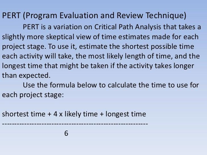 how to create a critical path analysis