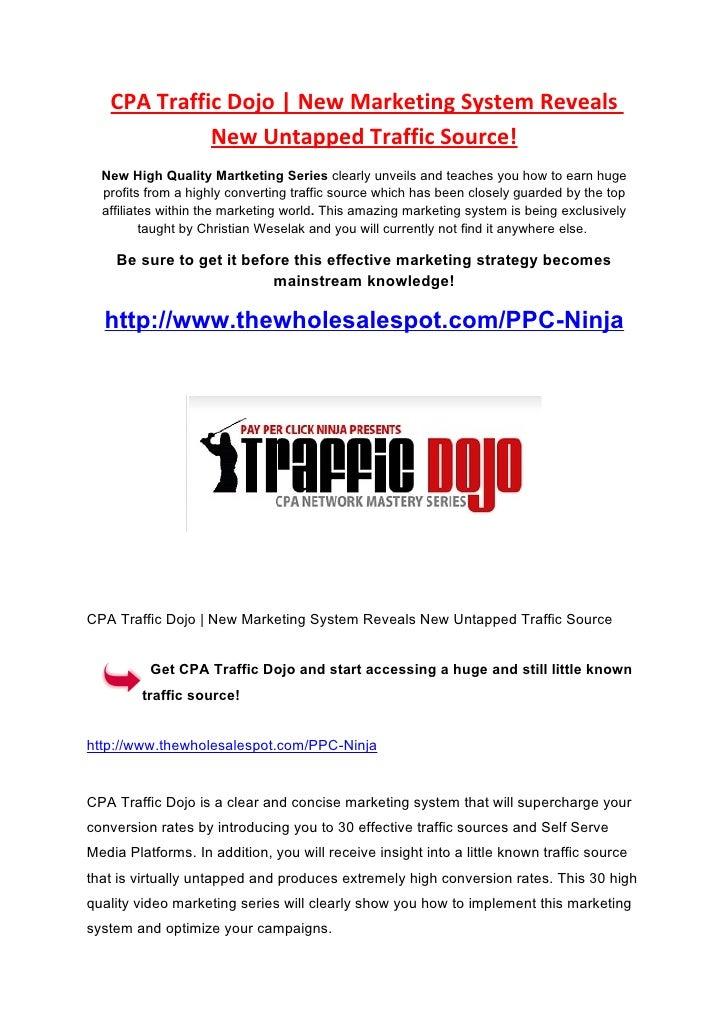 Review of CPA Traffic Dojo