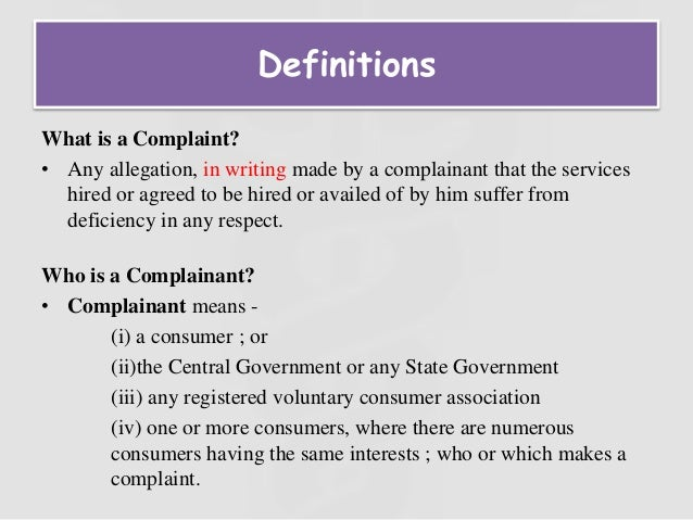 Consumer protection act in medical profession 9 what is a complaint spiritdancerdesigns Image collections