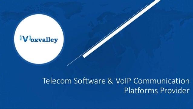 Telecom Software & VoIP Communication Platforms Provider