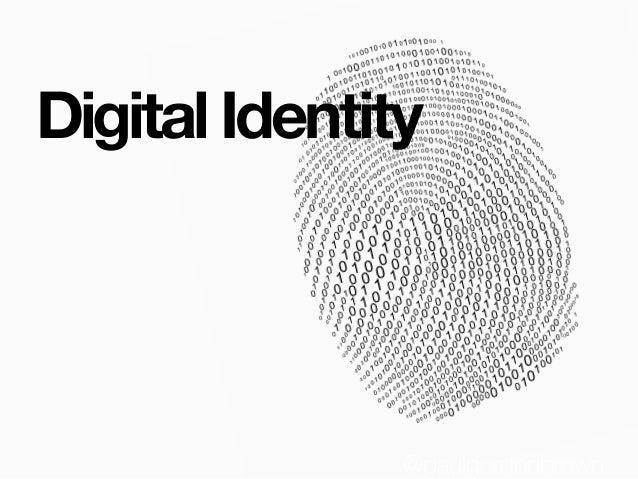 Digital Identity @paulgordonbrown