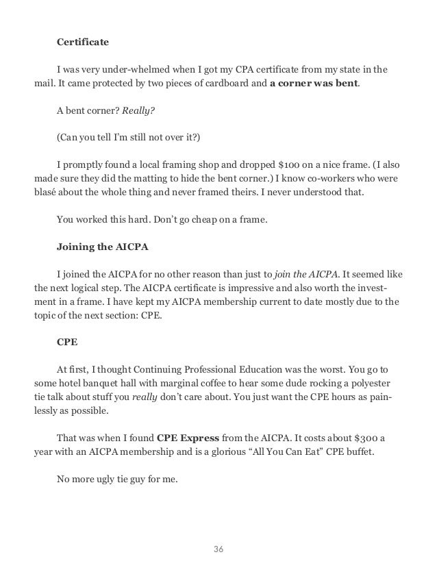 Cpa Exam Survival Guide