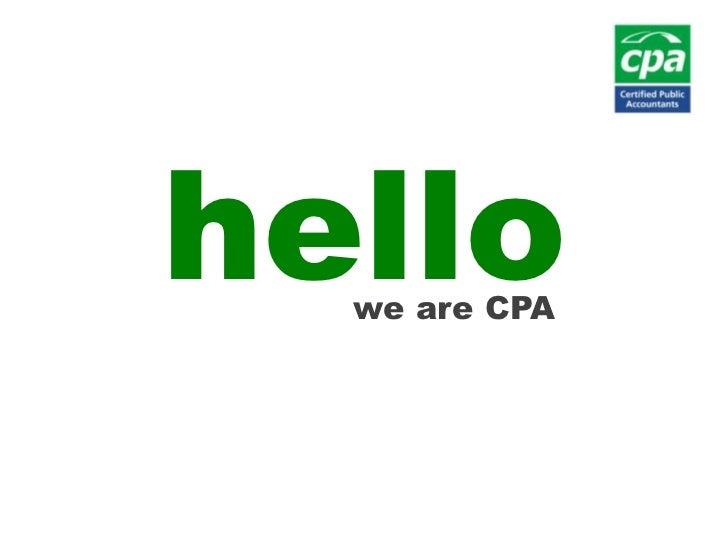 hello<br />we are CPA<br />