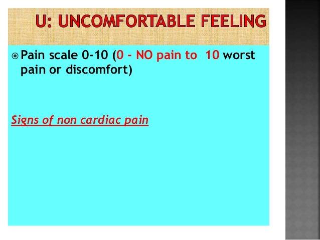 Chest Pain--- PQRST - Assessment
