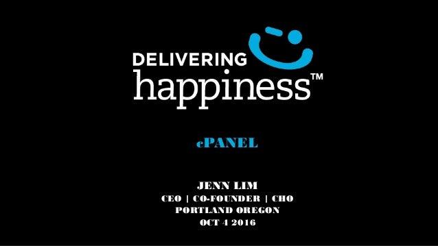 cPANEL JENN LIM CEO | CO-FOUNDER | CHO PORTLAND OREGON OCT 4 2016