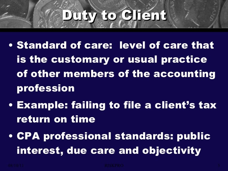 negligence liability of accountants Accountants' liabilities to third parties under professional negligence liability of public accountants rouse, legal liability of the public accountant.