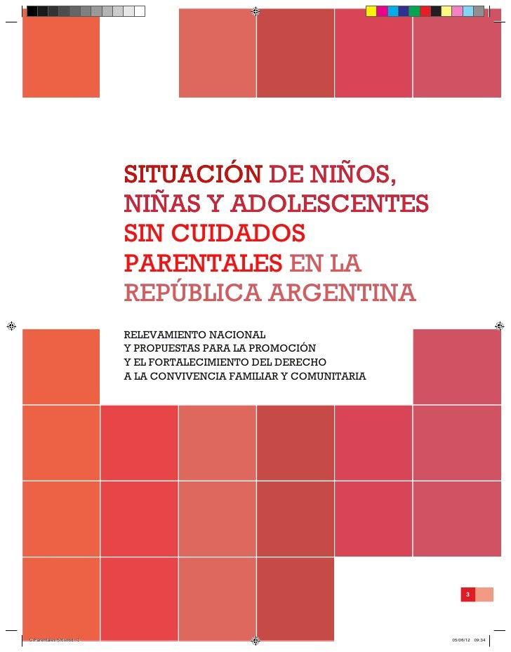 SITUACIÓN DE NIÑOS,                          situación De niños,                          NIÑAS Y ADOLESCENTES            ...