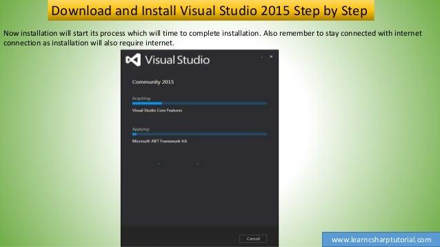 visual studio 2015 скачать