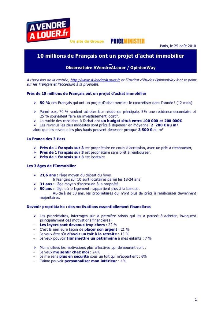 Un site du Groupe                                                                                 Paris, le 25 août 2010  ...