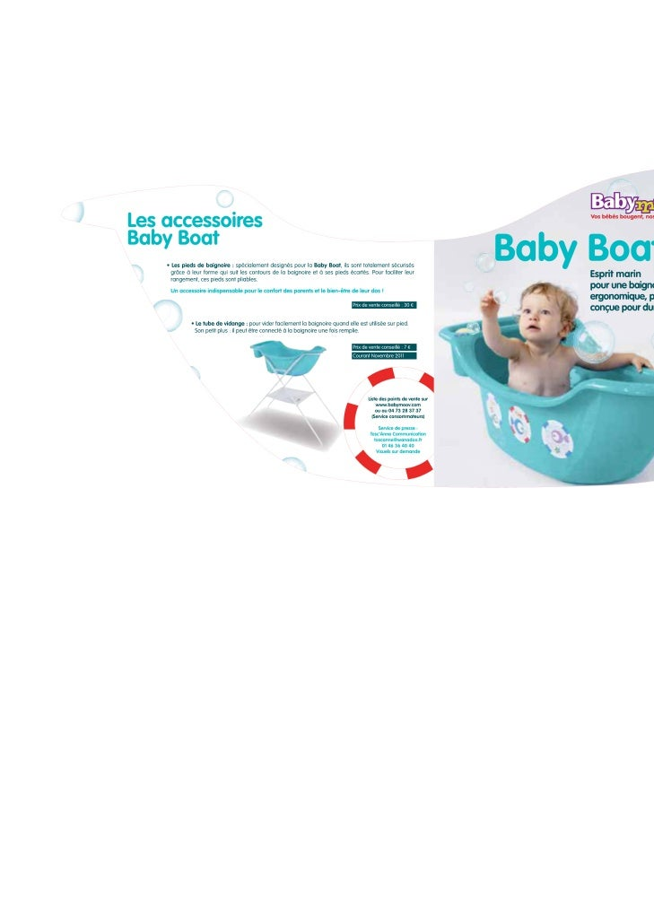 communiqu de presse baby boat. Black Bedroom Furniture Sets. Home Design Ideas