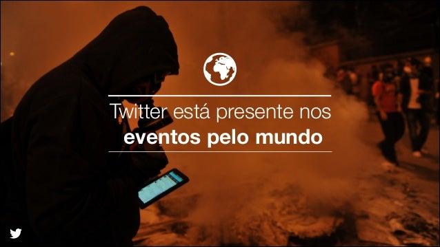 Twitter está presente nos eventos pelo mundo  @TwitterAds | Confidential