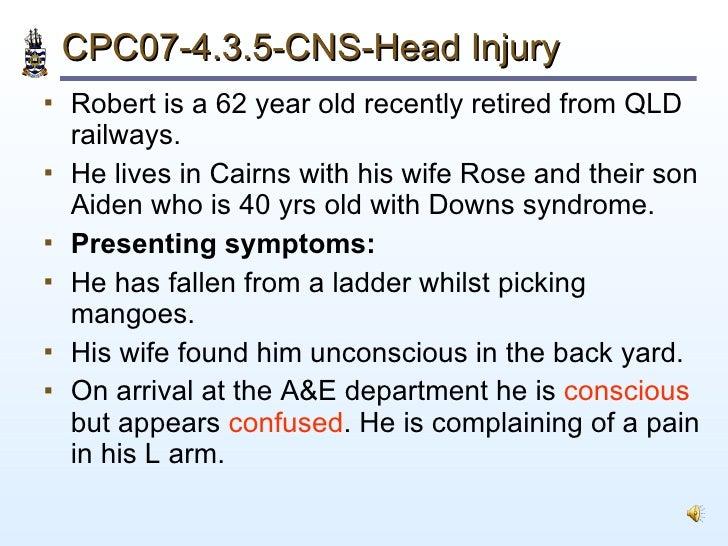 Pathology of Head Injury Slide 2