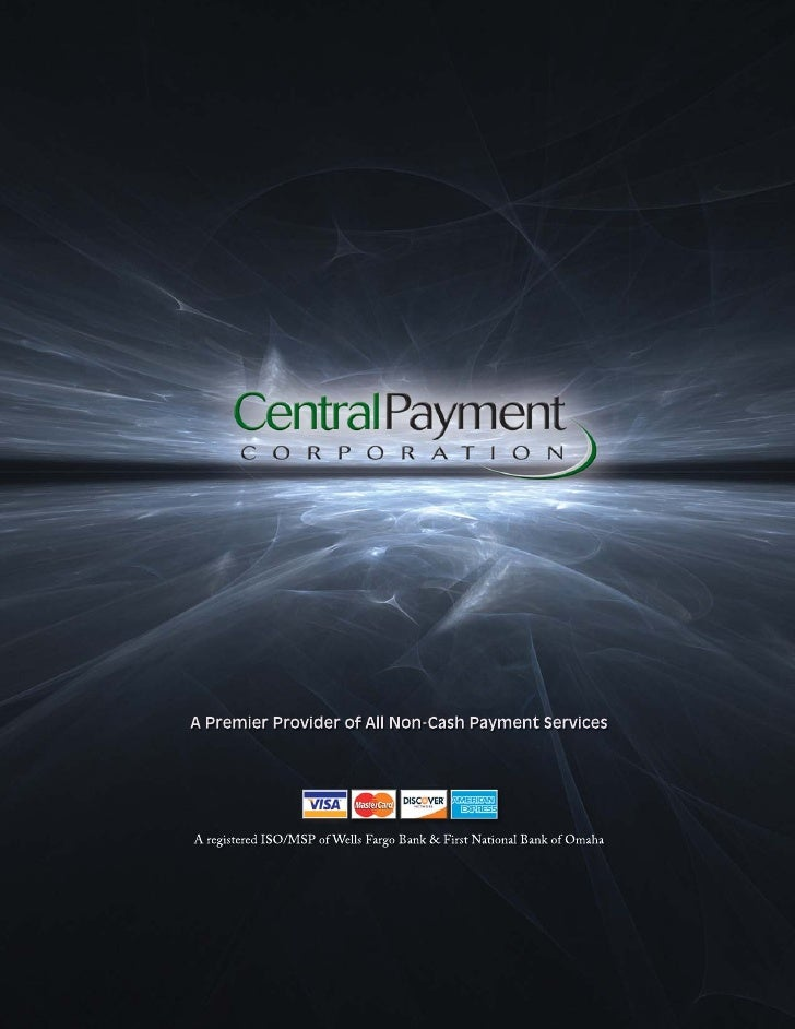 Central Payment is a leader in the merchant                                       bankcard industry. We use the latest tec...