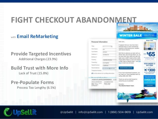 Complete Abandonment Analysis Identify problem-areas in your funnel Custom Traffic Segmentation Learn which customers are ...