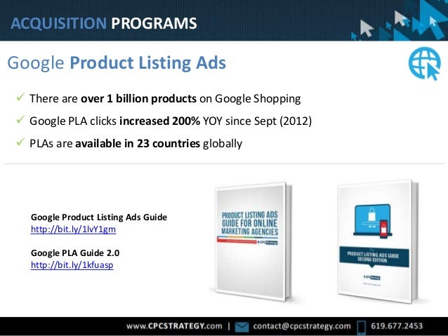 All Products Google Product Listing Ads Google Product Listing Ads Guide http://bit.ly/1lvY1gm Google PLA Guide 2.0 http:/...