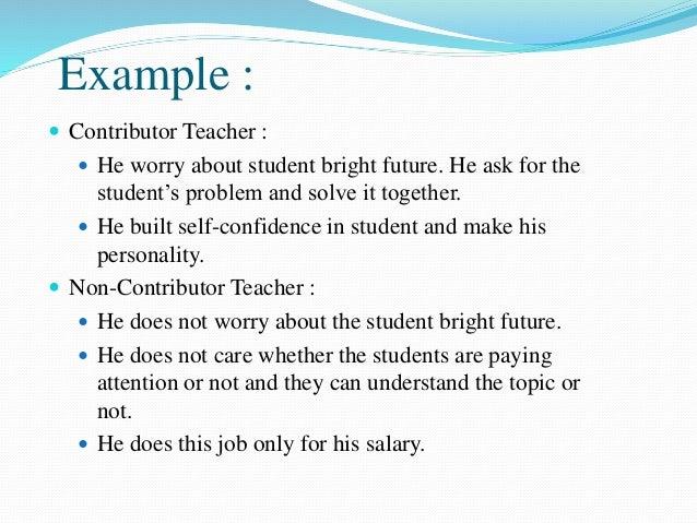Contributer Personality Development Slide 3