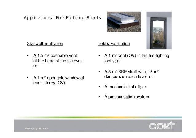 CPD Presentation: General Principles of Smoke Control