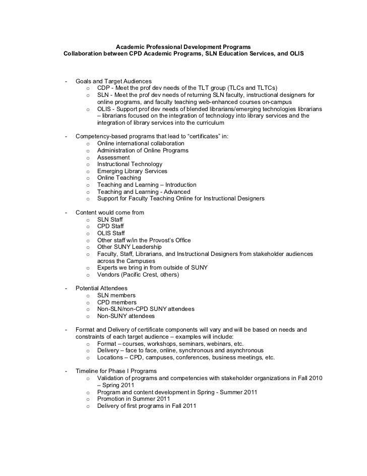 Cpdslnolis Certificate Programs Sln Solsummit