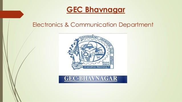 GEC Bhavnagar Electronics & Communication Department