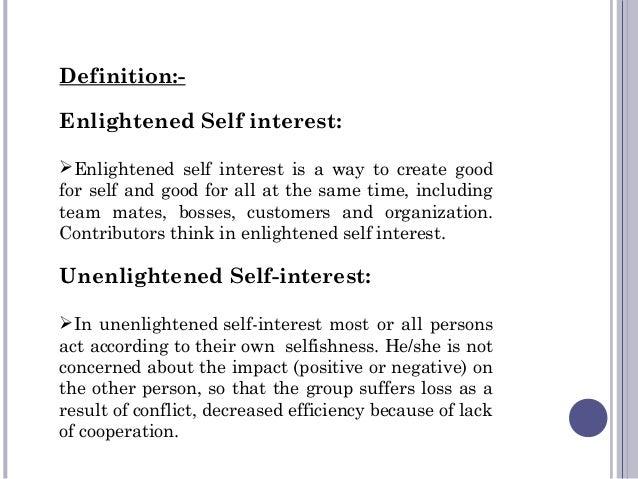 Stakeholder engagement drivers – part 3: enlightened self-interest.