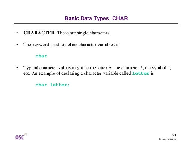 the keywords in c programing pdf