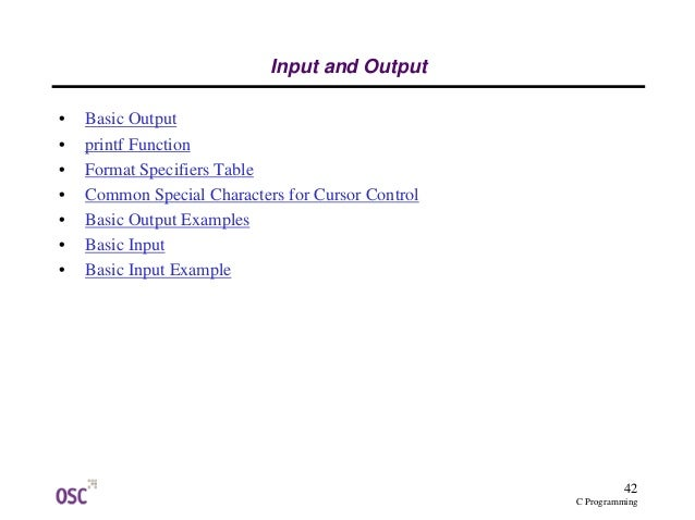 c programming examples with output pdf