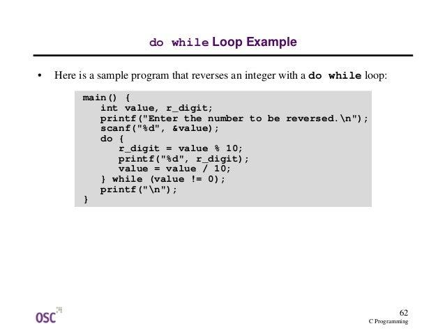 Pdf c programming examples