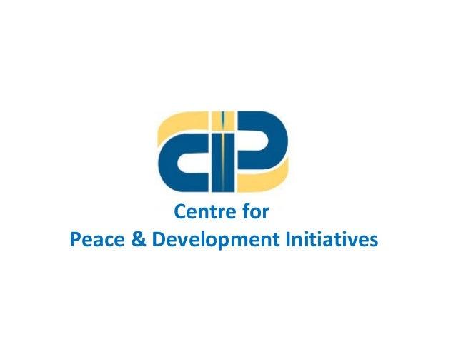 Centre for Peace & Development Initiatives