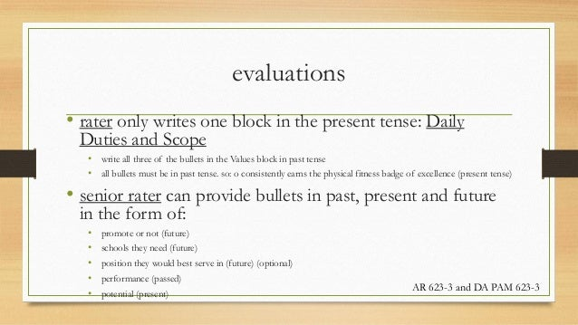 Ncoer bullet points for army values essay