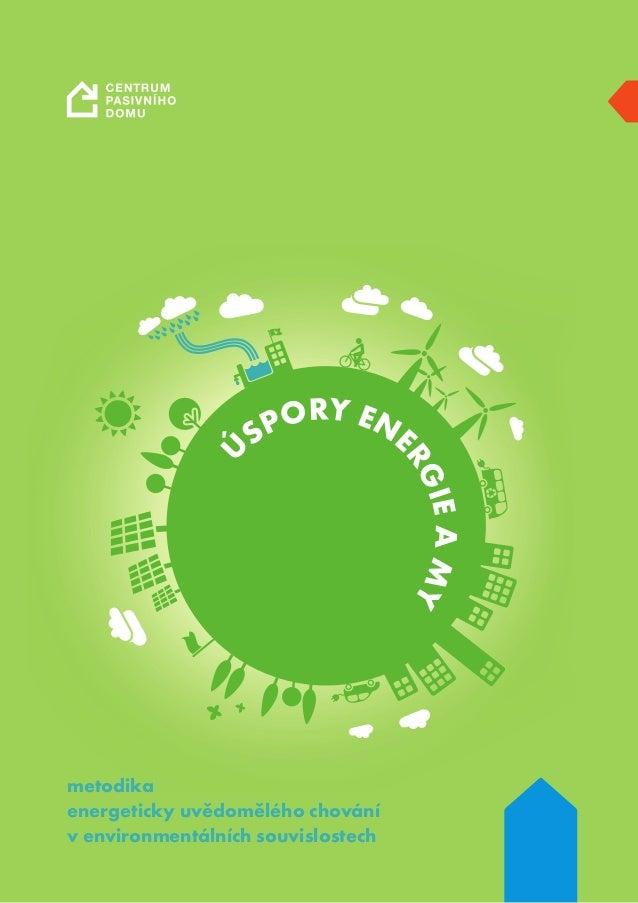 Ú SPORY ENE RGIEAMY metodika energeticky uvědomělého chování v environmentálních souvislostech